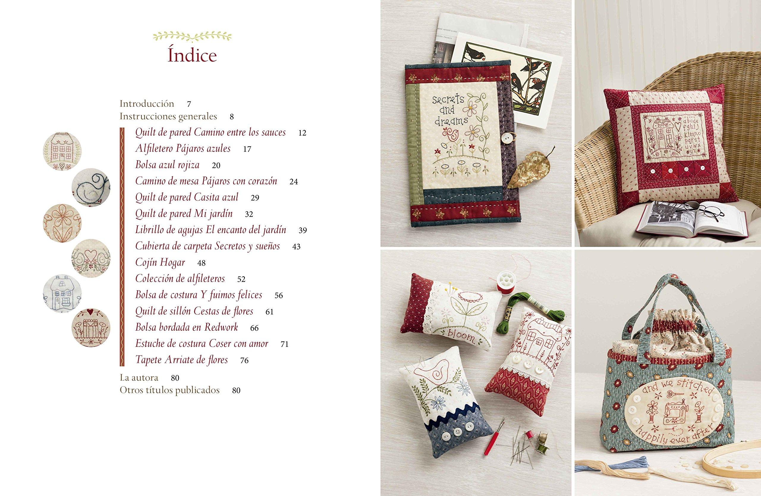 Amazon.com: Labores creativas de patchwork y bordado : 15 ...