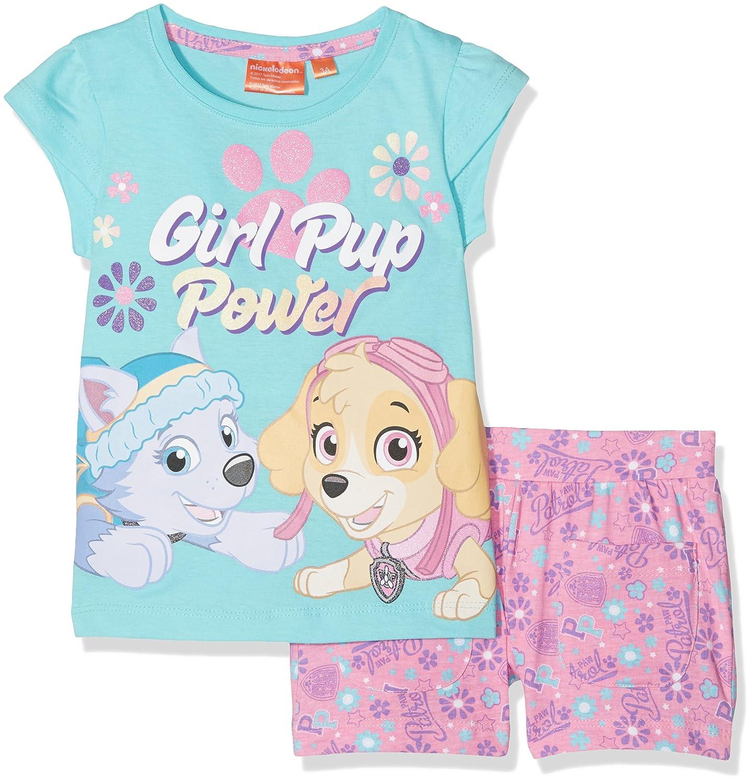 Paw Patrol Girl's Sportswear Set Blue Marvel QE1438