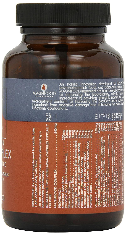 TERRANOVA B Complejo Con Vitamina C - 100 Vegicaps: Amazon.es: Salud y cuidado personal