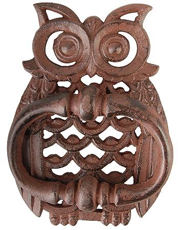 Esschert Design Owl Door Knocker  sc 1 st  Amazon.com & Amazon.com : Esschert Design Owl Door Knocker : Garden u0026 Outdoor pezcame.com