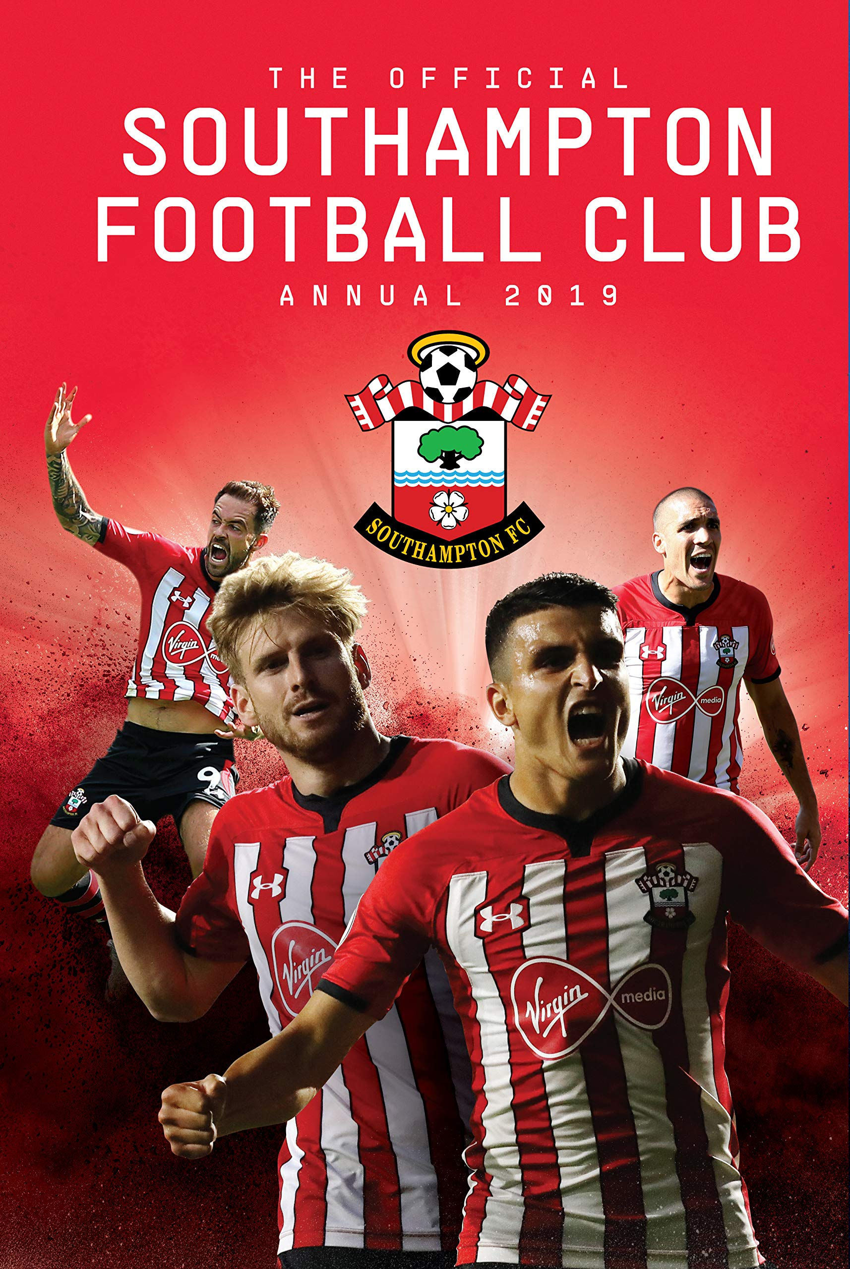 The Official Southampton Soccer Club Annual 2019: Steve