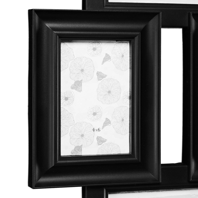 Amazon.de: Relaxdays Bilderrahmen Collage, Bildergalerie für 7 ...