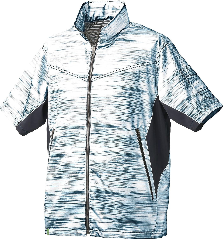 タカヤ TAKAYA 作業服 作業着 半袖ジャケット(単品) GC-K002 B07CNQ1M31 5 ネイビーブラッシュ 3L