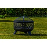 Kingfisher Fire Pits with Design and Sides Outdoor Garden Furniture