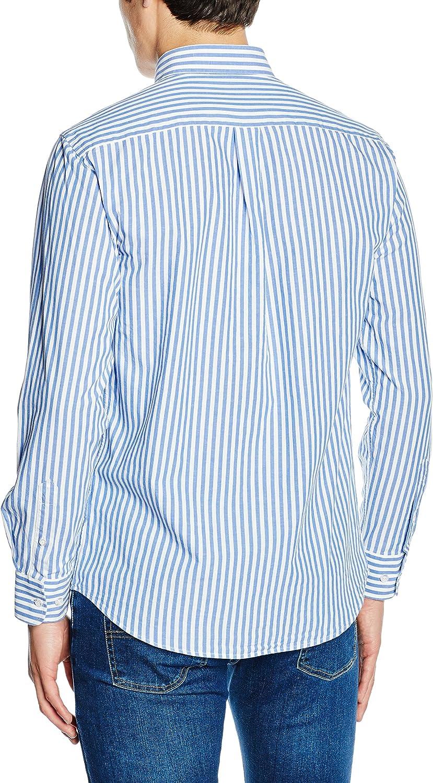 TORO Camisa Osborne M/L Rayas, 1 Marino, S para Hombre: Amazon.es: Ropa y accesorios