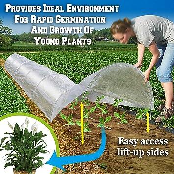 Grow Tunnel X2 Pack Premium Qualitat Polyethylen Einfach Zu