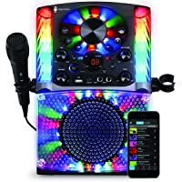 Singing Machine SML625BTBK Bluetooth CD+G Karaoke System