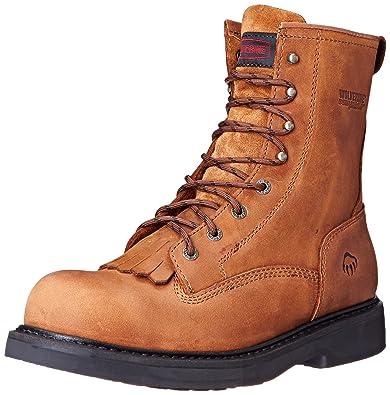 1bce3170832 Wolverine Men's Ingham 8 Inch Dura shocks Steel Toe EH Work Boot