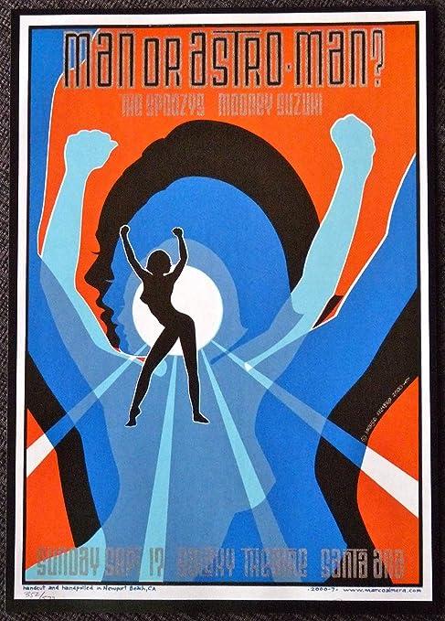 Amazon.com: Hombre O astro-man? – Vivir en el Teatro Galaxy ...