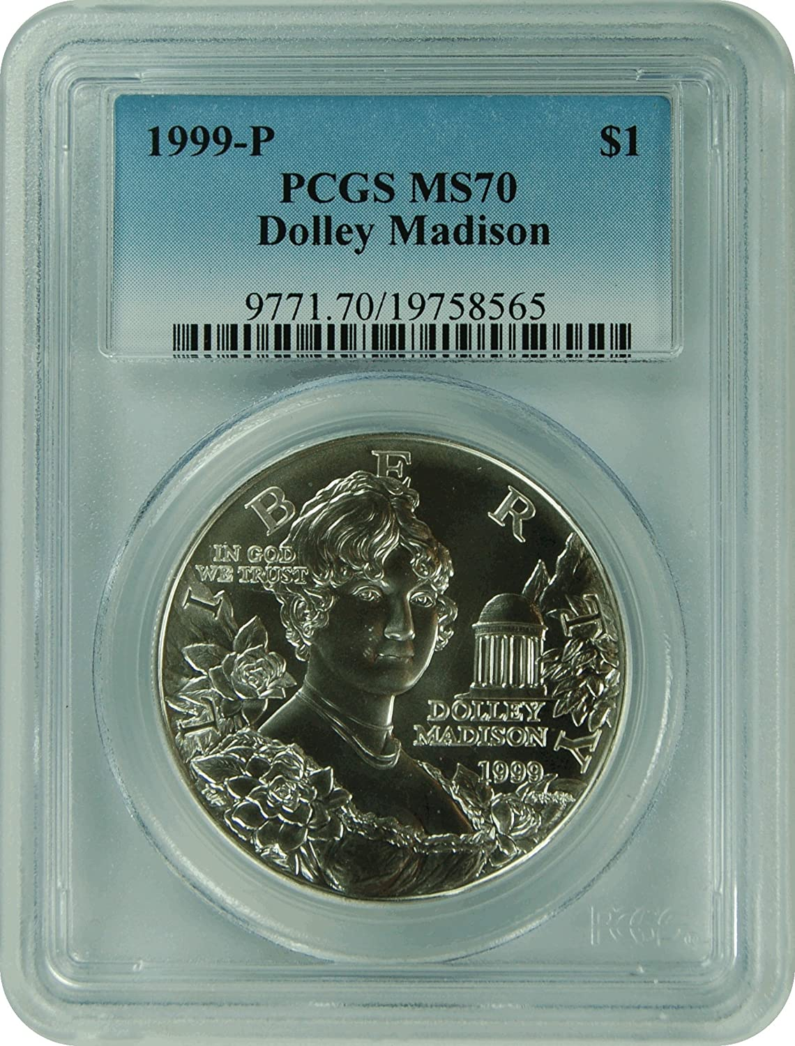 PCGS MS70 2014-P US Civil Rights Commemorative BU Silver $1