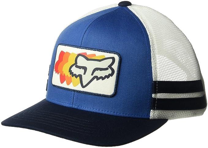 Cappellino Trucker 74 Wins FOX cappellino berretto baseball Taglia unica -  blu  Amazon.it  Sport e tempo libero dfb700ec84a1