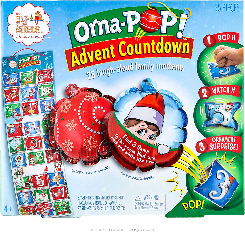 The Elf on the Shelf Orna-Pop Advent Countdown