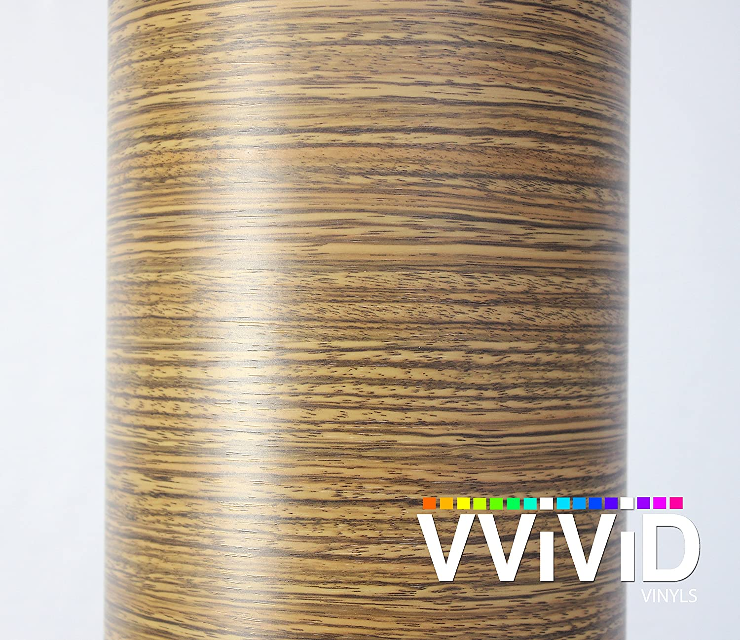 """VVIVID Driftwood Wood Grain Faux Finish Textured Vinyl Wrap Roll Film for Home Office Furniture DIY Easy to Install No Mess (2ft x 48"""")"""