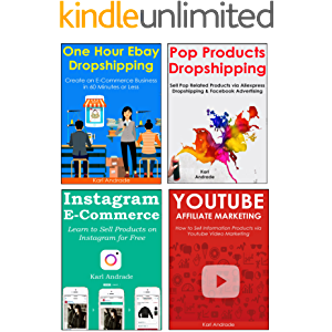 ULTIMATE E-COMMERCE BUNDLE (4 in 1): Learn to Start Your Own Home Based Business and Earn a Full-Time Income as a New…