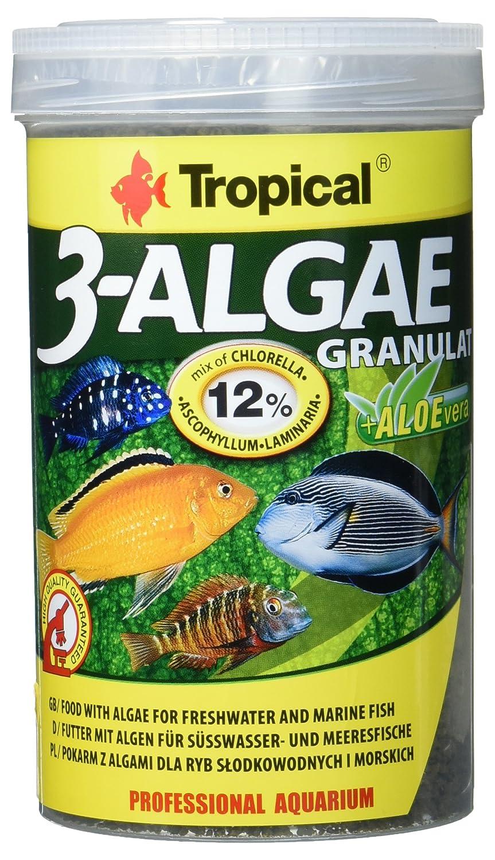 Tropical de 3 Algae granulado, 1er Pack (1 x 1 l): Amazon.es ...