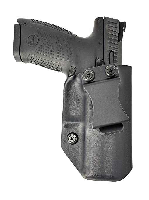 Sunsmith Holster - Compatible with CZ P-10 C Kydex IWB Concealed Carry  Holster Made in USA by Fast Draw USA