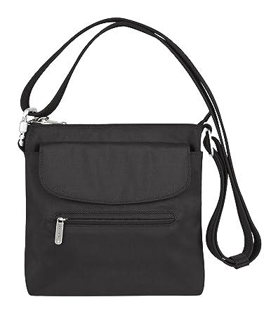 1dea0d341a44 Travelon Anti-Theft Mini Shoulder Crossbody Bag - RFID Blocking Protection  Purse