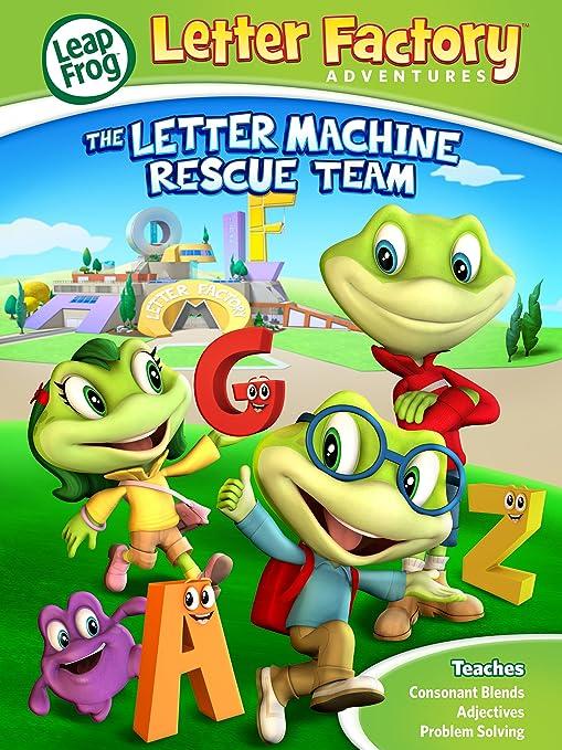 Amazon.com: Leapfrog Letter Factory Adventures: The Letter Machine ...