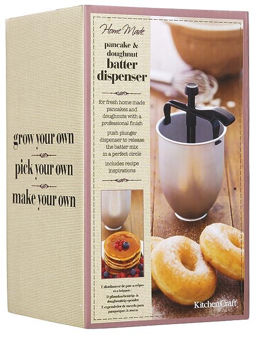amazoncom letu0027s make pancake u0026 doughnut batter dispenser kchmpd food dispensers kitchen u0026 dining - Batter Dispenser