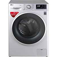 LG 8 kg Fully-Automatic Front Loading Washing Machine (FHT1208SWL.ALSPEIL, Luxury Silver)