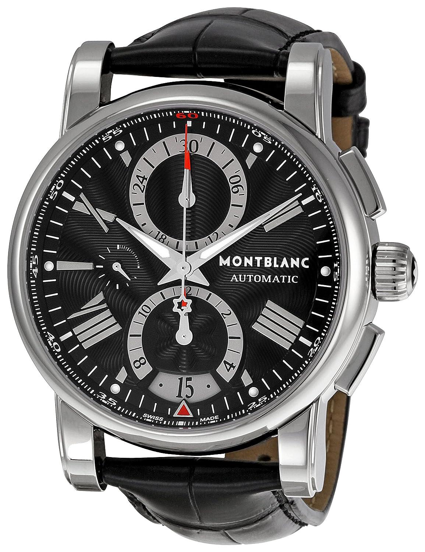 f492399d71e Amazon.com  Montblanc Men s 102377 Star Chronograph Watch  Montblanc   Watches