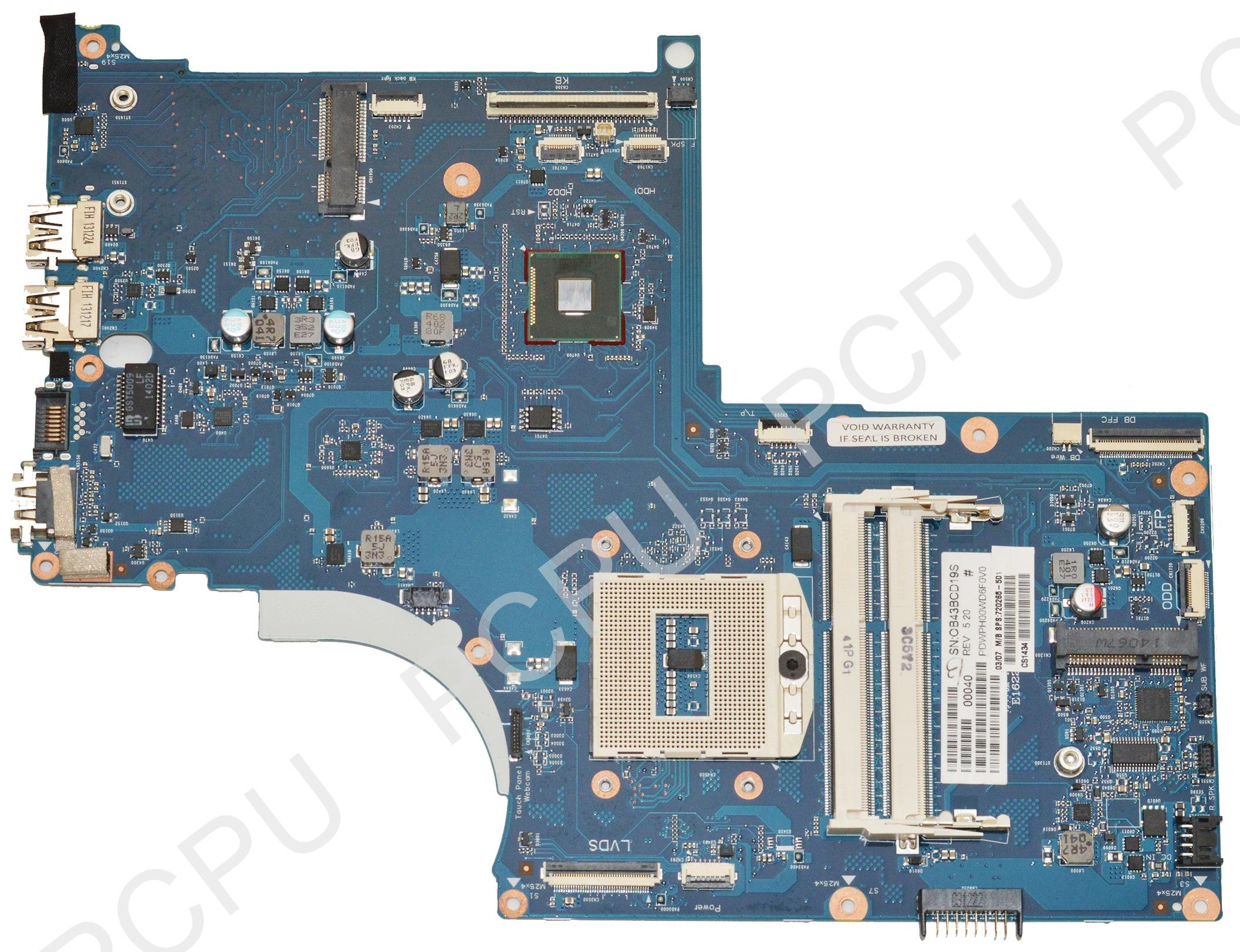 720265-501 HP Envy M7-J Intel Laptop Motherboard s947