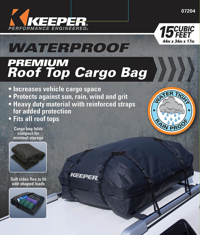 KEEPER 8 Black Premium Waterproof Cargo Bag (8 Cubic Feet)