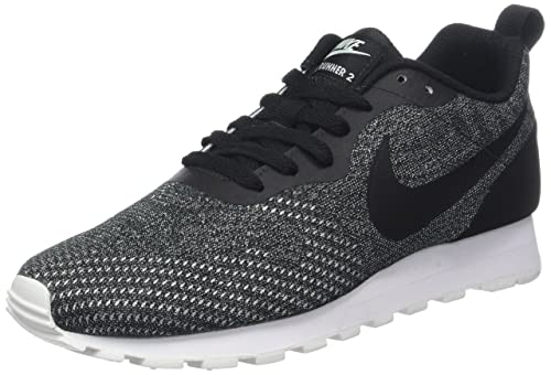 Nike Women s Md Runner 2 Eng Mesh Trainers Grey  Amazon.co.uk  Shoes ... 6f32e3af71a4a