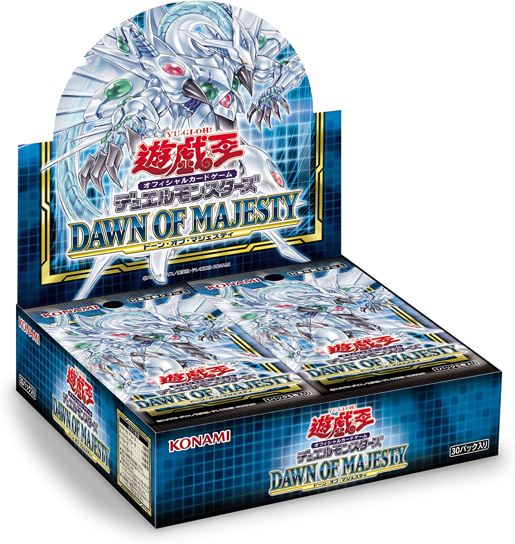 Amazon   コナミデジタルエンタテインメント 遊戯王OCG デュエルモンスターズ DAWN OF MAJESTY  BOX(初回生産限定版)(+1ボーナスパック 同梱) CG1725   トレカ 通販