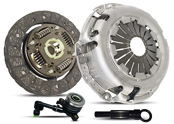 Amazon.com: Clutch With Slave Kit Works With Nissan March Note Tiida Versa Advance Sense Drive Sr 1.6 S Plus 2009-2015 1.6L 1598CC l4 GAS DOHC Naturally ...