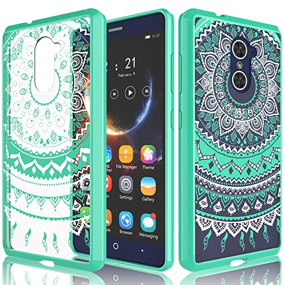 official photos 5319c 42593 ZTE Grand X Max 2 Case, ZTE Imperial Max Case for Girls, Tekcoo [TFlower]  Transparent Cute Lovely Adorable Clear Hard TPU Skin Scratch-Proof Bumper  ...