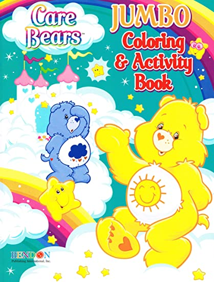 Bendon Care Bears Jumbo Color And Activity 96 Pages Set Of 4 Books