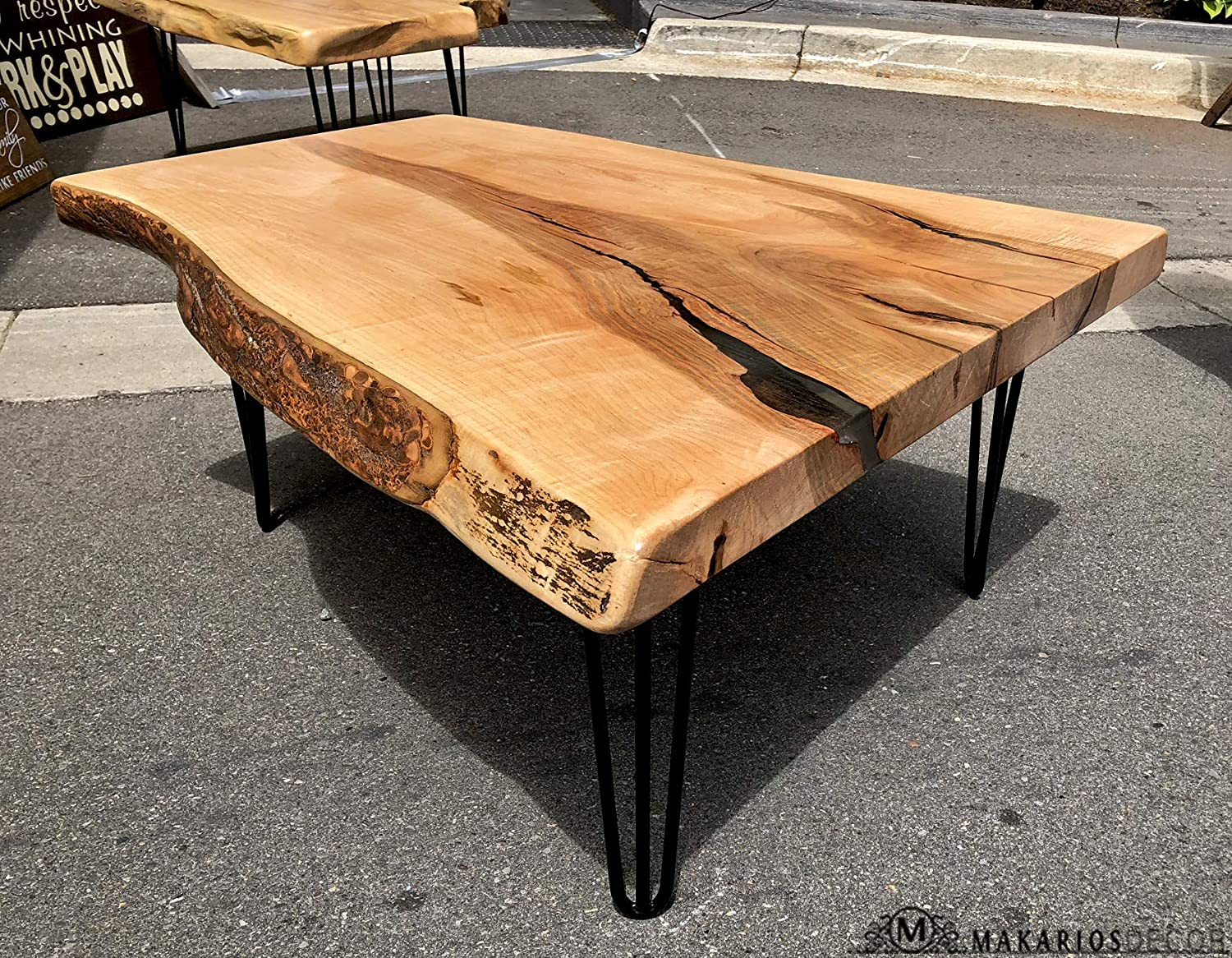 Amazon Com Live Edge Live Edge Coffee Table Live Edge Wood Slab