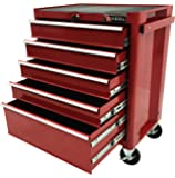 Excel TB2090BBSB-Red 27-Inch Steel Roller Cabinet, Red