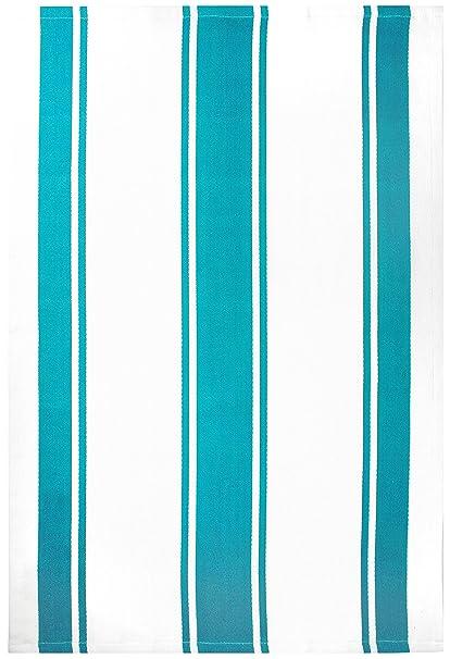 MUkitchen 100% Cotton Oversized Designer Kitchen Towel, Aquamarine   20 X  30 Inches