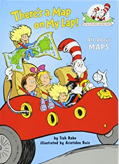Amazon zanzoon interactive map usa english toys games theres a map on my lap all about maps cat in the hats gumiabroncs Image collections