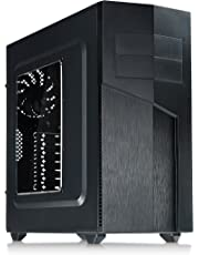 Rosewill TYRFING ATX Mid Tower Gaming PC Computer Case with 2 Pre-Installed 120mm Fans, 400mm Graphics Card and 360mm AIO Liquid Cooler Support, Bottom Mount PSU and HDD/SSD