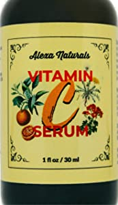 Vitamin C Serum for Face with Hyaluronic Acid – Natural...