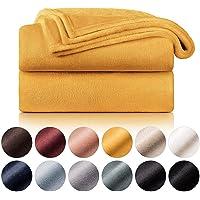 Blumtal Mantas para Sofá de Franela Suave y Acolchada - Manta Polar 100% Microfibra Extra Suave, Manta de sofá, de Cama…