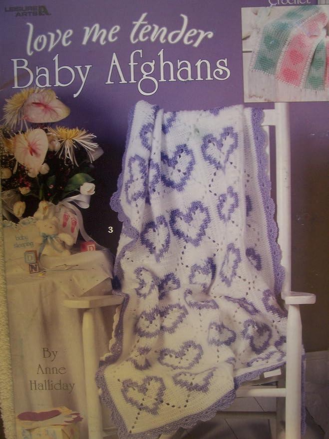 Love Me Tender Baby Afghans Crochet Patterns Amazon Home
