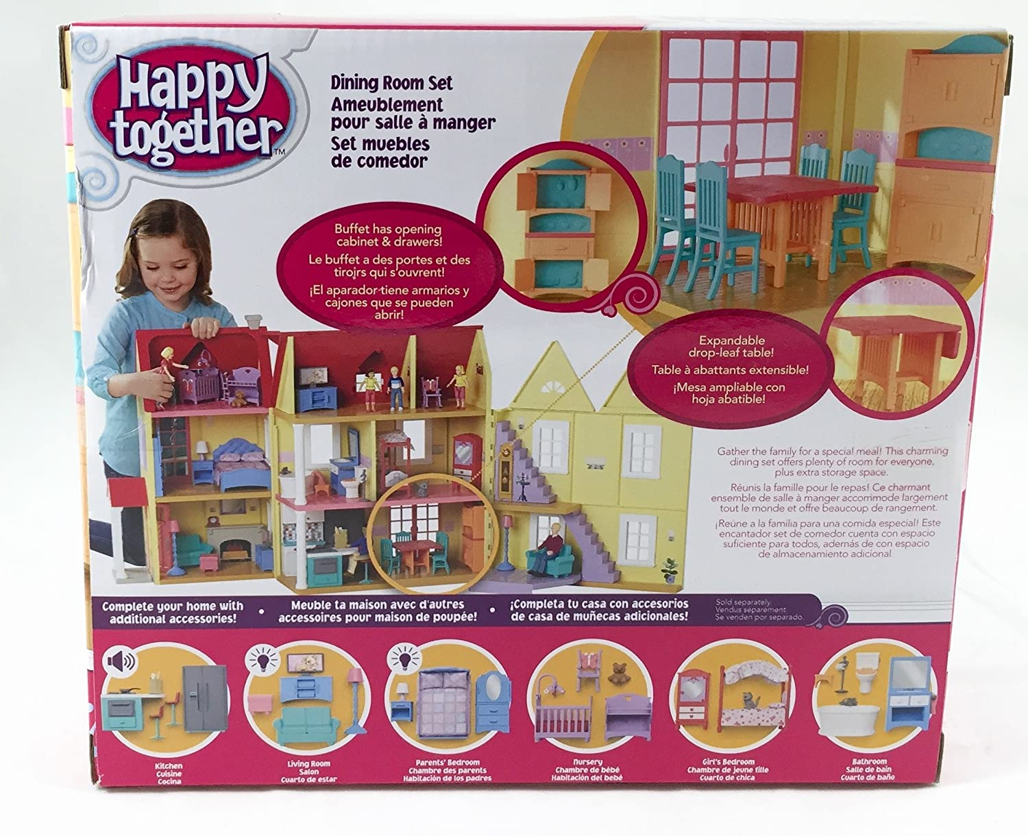 Amazon.com: Happy Together Dining Room and Family Bundle ...