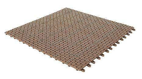 Piastrelle flessibili in plastica 55 5 x 55 5 cm da interno esterno