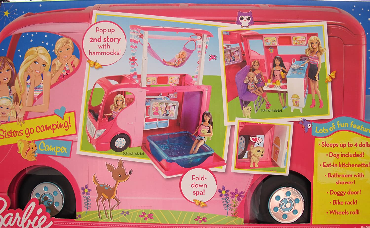 Mattel Barbie 2010 Sisters Go Camping Camper RV Replacement Part Table Doll