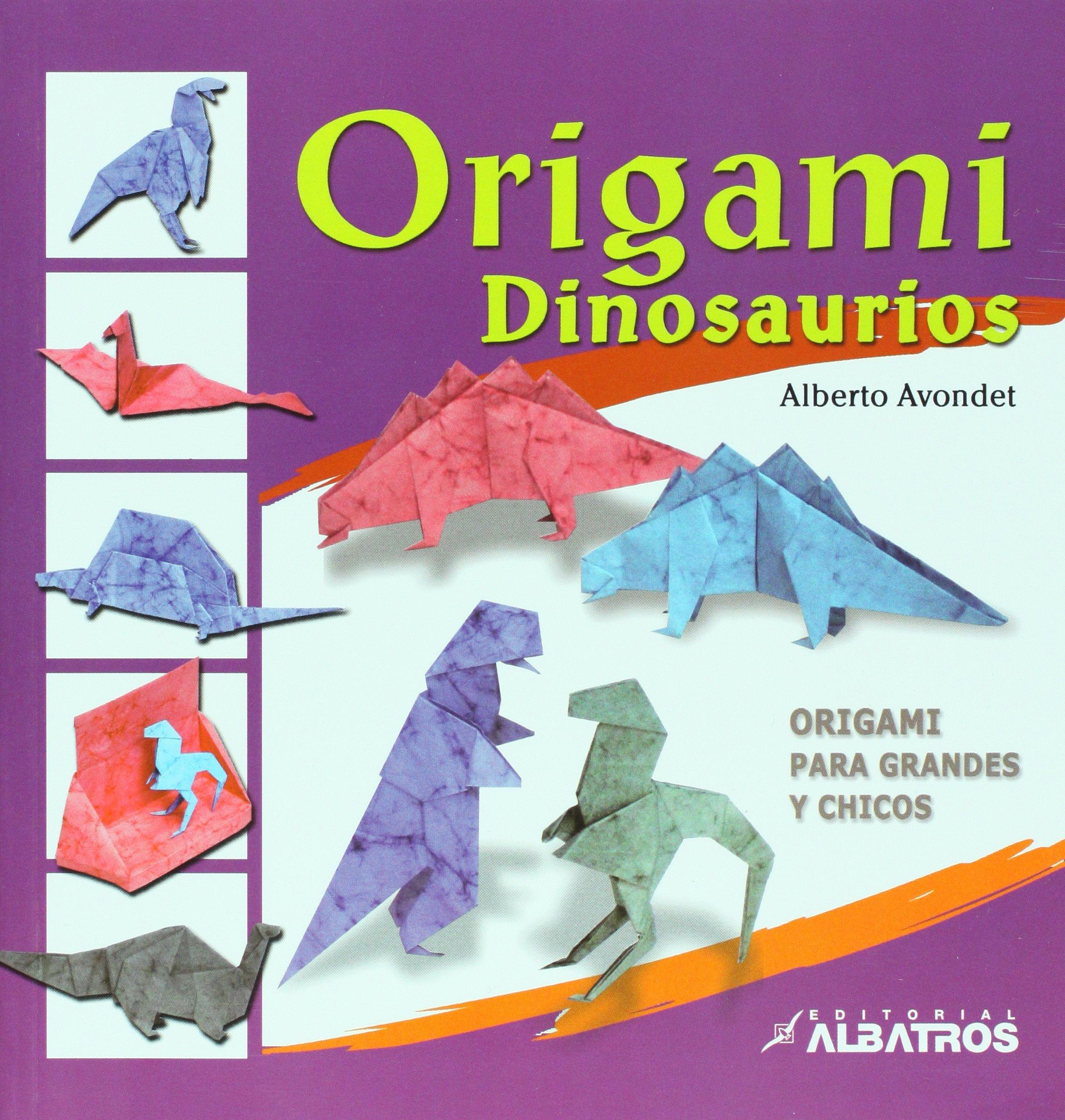 Origami dinosaurios / Dinosaurs Origami (Español) Tapa blanda