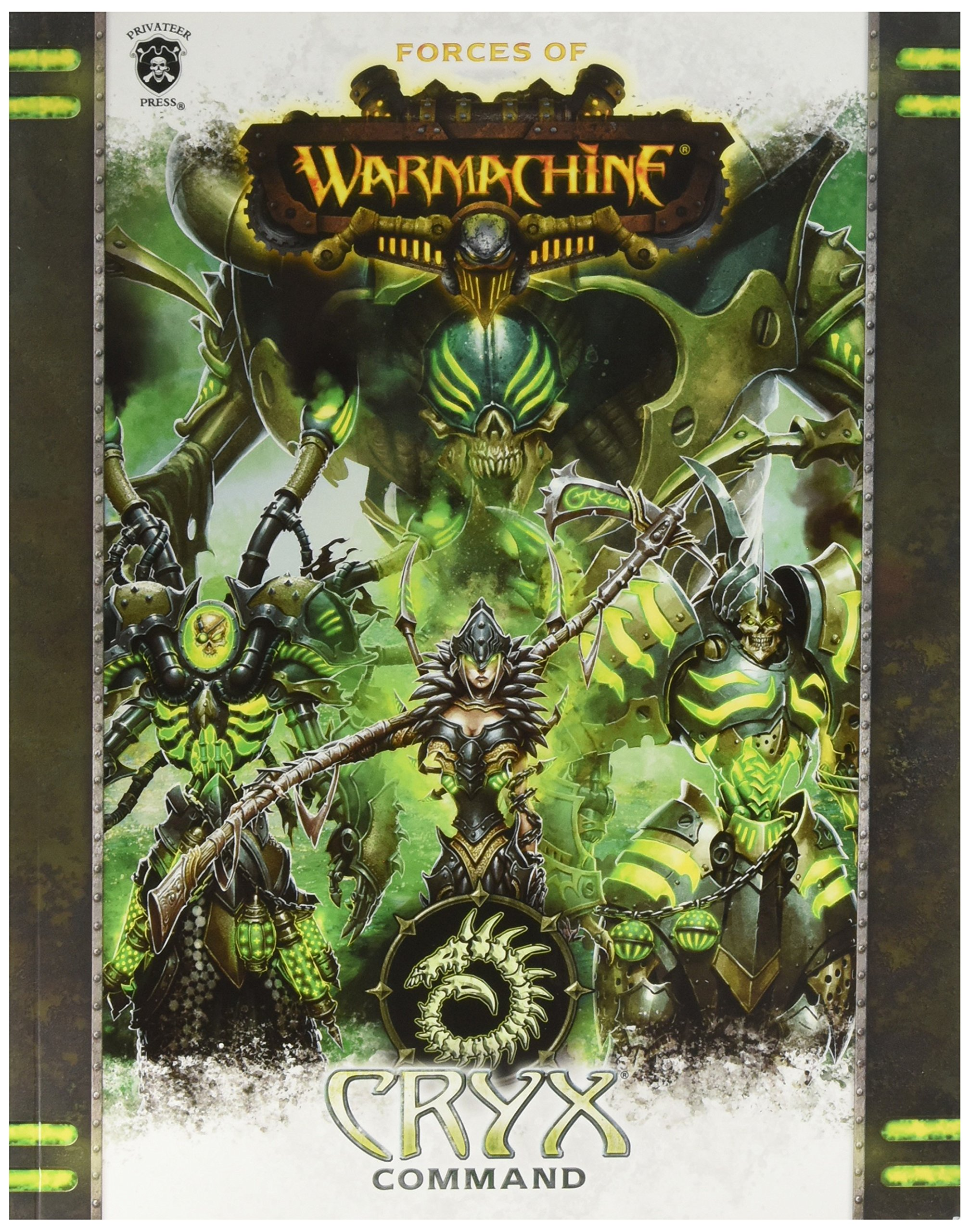 Privateer Press Forces of Warmachine: Cryx Command SC (Book) Miniature Game PIP1088