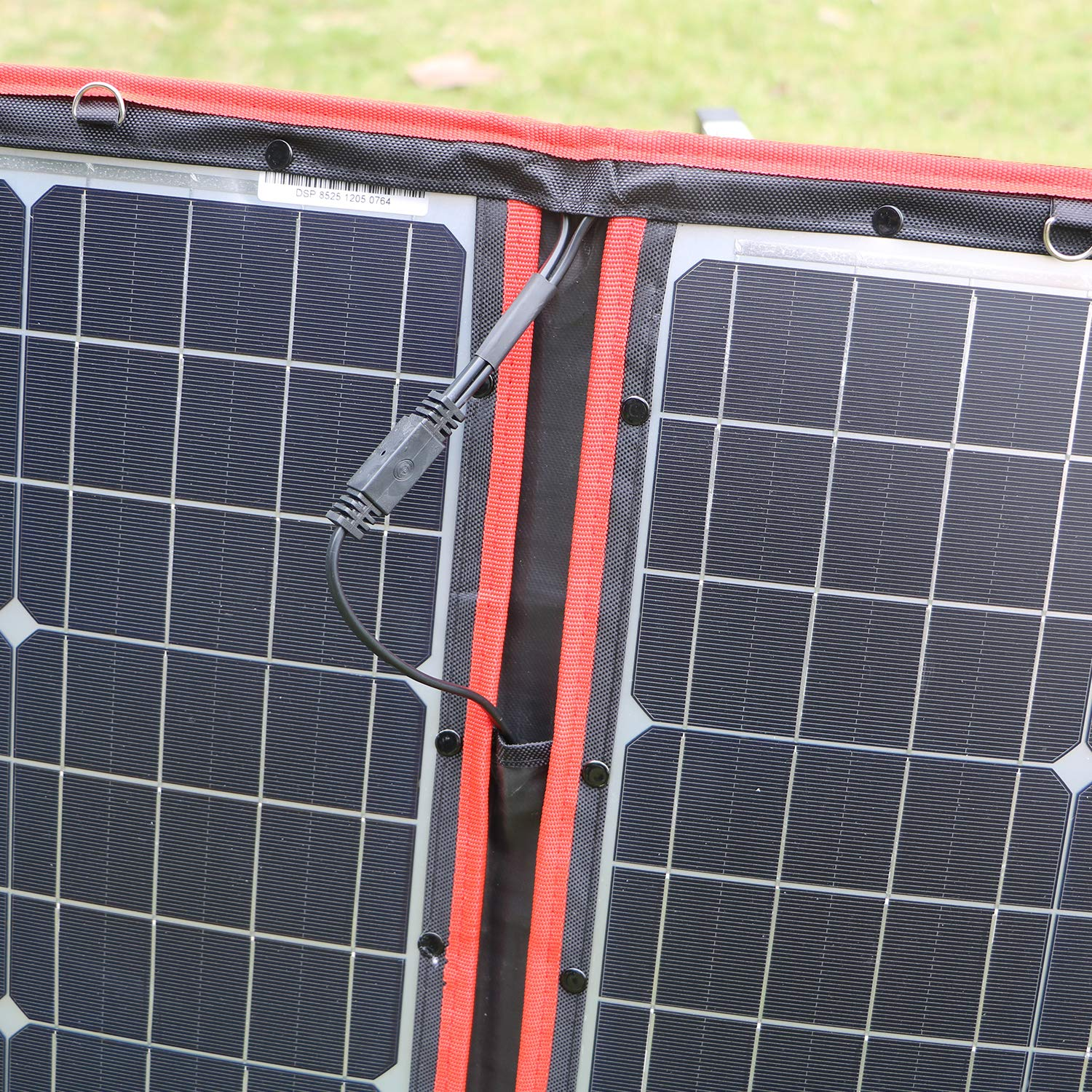 DOKIO 100 Watts 12 Volts Monocrystalline Foldable Solar Panel with Charge Controller by DOKIO (Image #9)