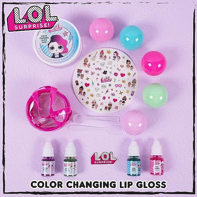 LOL Surprise Color Change Lip Gloss Kit L.O.L Dolls