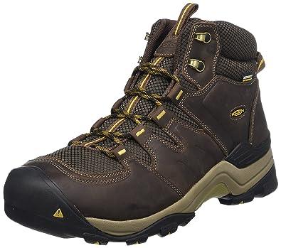 559ceed757d KEEN Men's Gypsum II Mid Waterproof Shoe, Coffee Bean/Bronze Mist, ...