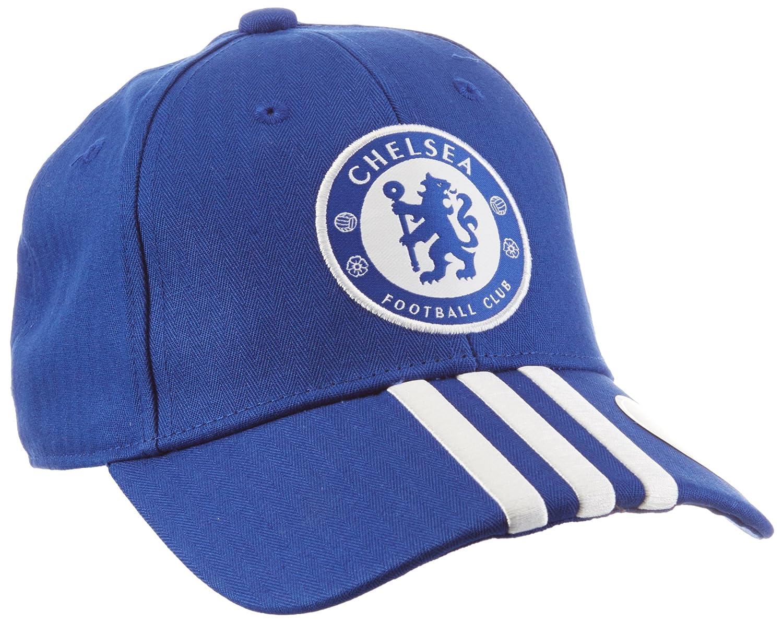 adidas FC 3-Stripes Cap - Chelsea Blue Night Indigo White 8583af4f38fb