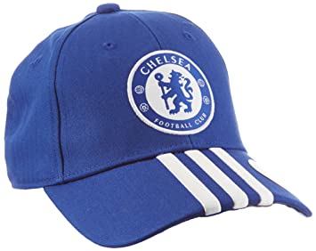 adidas FC 3-Stripes Cap - Chelsea Blue Night Indigo White 230dd94568e